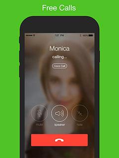 الإتصال و إجراء المكالمات الصوتية مجانا من خلال تطبيق كوكو Coco