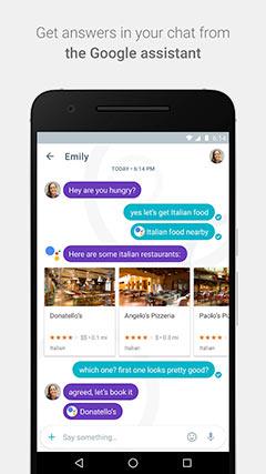تطبيق المراسلة و المكالمات جوجل ألو