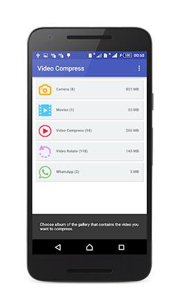 فيديو كومبرس Video Compress
