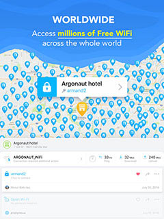 تطبيق الانترنت المجاني واي فاي ماب