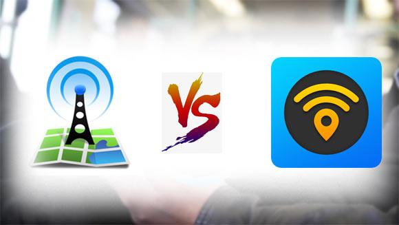 تطبيق واي فاي ماب WiFi Map و تطبيق اوبن سجنال
