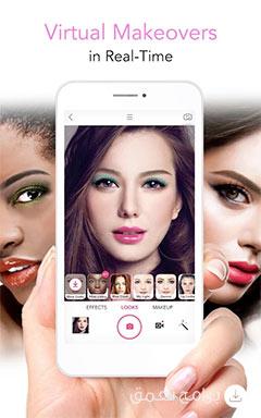 نبذة عن تطبيق الميك اب و تعديل الصور Youcam Makeup